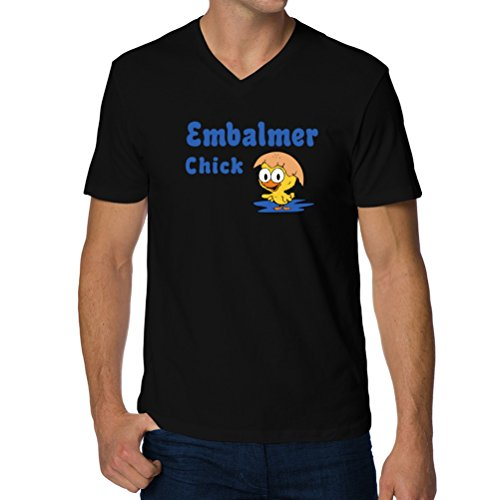 34460edf Embalmer chick V-Neck T-Shirt