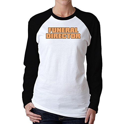 597d0c88 Idakoos – Funeral Director – Occupations – Women Raglan Long Sleeve T-Shirt.  🔍. $22.99 ...